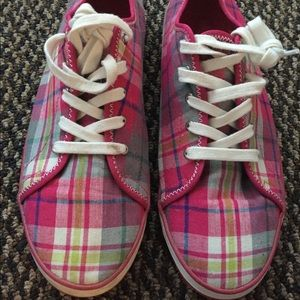 Women's Privo by Clarks Plaid Sneakers Size 10M